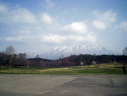 小岩井牧場からの岩手山
