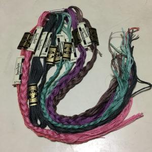 かわいい刺しゅう・刺しゅう糸の整理
