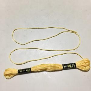 刺しゅう糸は三つ編み族
