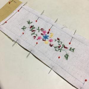 今から始める乙女の手習いお裁縫おさらい2回目