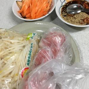 豚肉ともやしのキムチ炒め