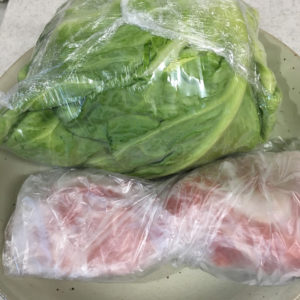 キャベツ・豚肉