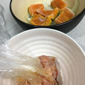 豚カボチャレシピ