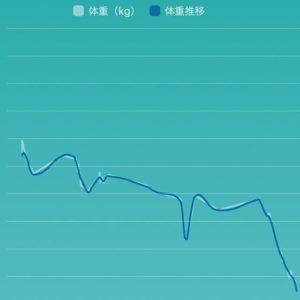 2018年11月の体重