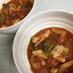 チキンとブロッコリーのトマト煮