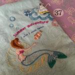 かわいい刺しゅう37号・人魚姫