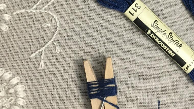 刺しゅう糸の扱い方