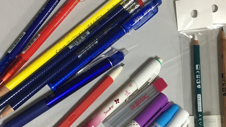 刺しゅうの下絵ペン