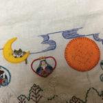 アップリケ刺繍・フェルトに図案を写す