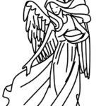 刺繍図案・天使