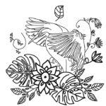 刺繍無料図案イラスト