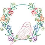 刺繍図案イラスト練習