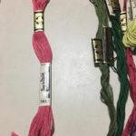 かわいい刺しゅう・刺しゅう糸