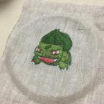 ポケモン刺繍