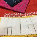 外布と内布を縫い合わせる