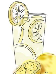 檸檬ドリンク